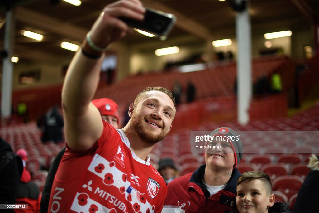 Gloucester Rugby v Northampton Saints - Premiership Rugby Cup : News Photo