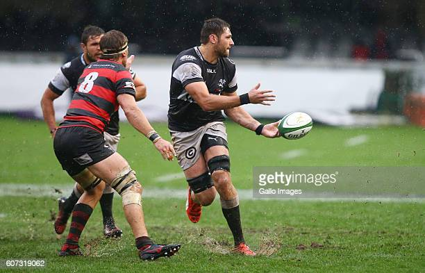 Ruan Botha of the Cell C Sharks during the Currie Cup match between Cell C Sharks XV and Eastern Province Kings at Growthpoint Kings Park on...