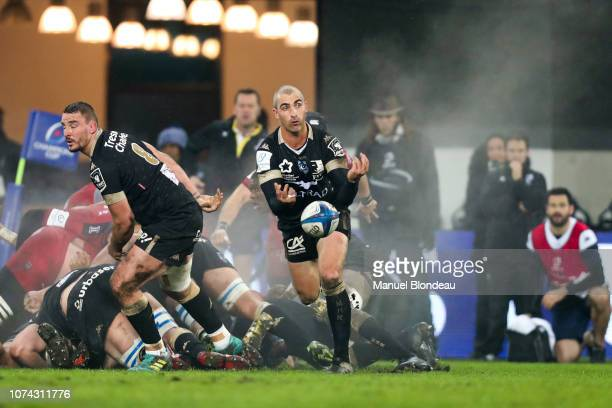 Ruan Pienaar of Montpellier during the European Champions Cup match between Montpellier and Toulon on December 16 2018 in Montpellier France