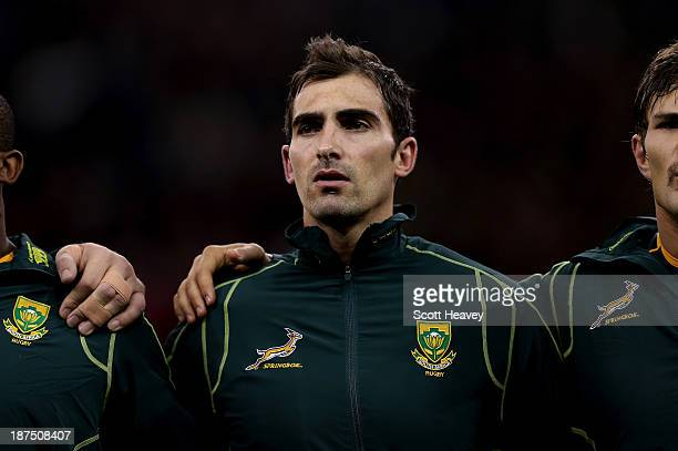 Ruan Pienaar of South Africa during an International between Wales and South Africa at Millennium Stadium on November 9 2013 in Cardiff Wales
