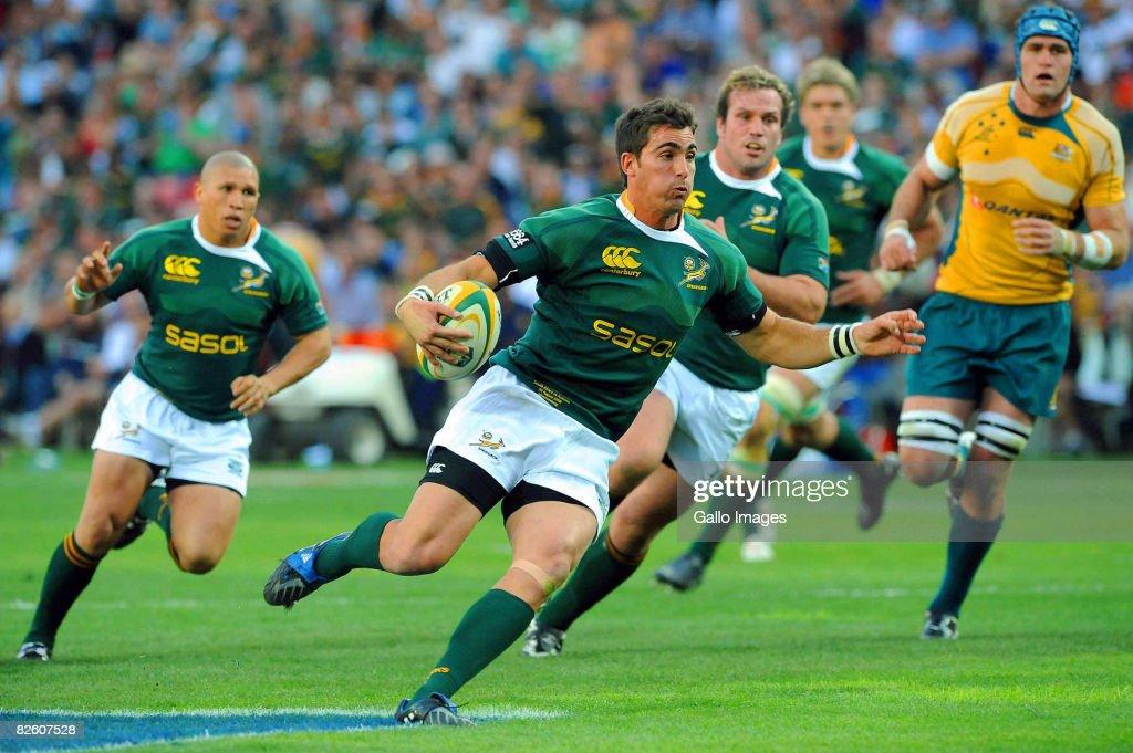 Tri-Nations - South Africa v Australia : News Photo
