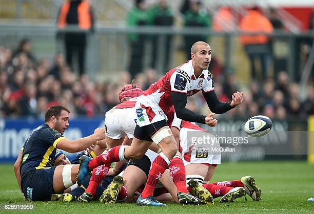 Ruan Pienaar of Ulster during the European Champions Cup game between Ulster and ASM Clermont Auvergne on December 10 2016 in Belfast United Kingdom