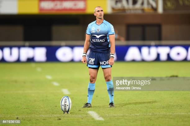 Ruan Piennar of Montpellier during the Top 14 match between Montpellier and Oyonnax on September 2 2017 in Montpellier France
