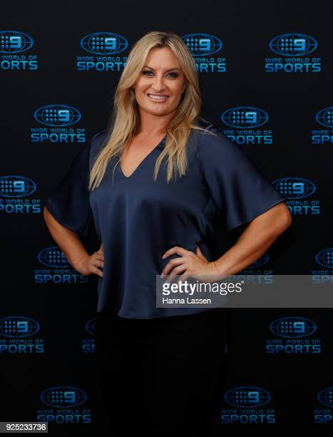 Ruan Sims attends the Nine Network 2018 NRL Launch at the Australian Maritime Museum on February 28 2018 in Sydney Australia