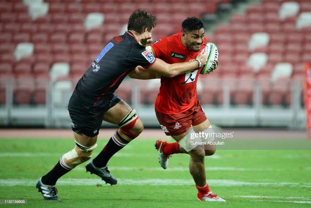 Super Rugby Rd 6 - Sunwolves v Lions : News Photo
