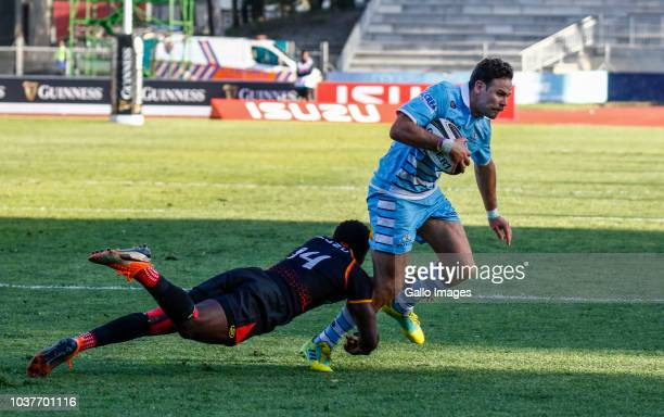 Ruaridh Jackson of Glasgow Warriors during the Guinness Pro14 match between Isuzu Southern Kings and Glasgow Warriors at Nelson Mandela Bay...