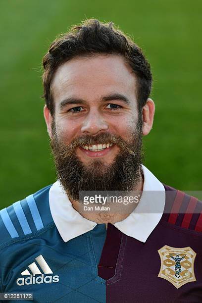 Ruaridh Jackson of Harlequins A poses prior to the Aviva Premiership A League match between Harlequins A and Exeter Braves at Twickenham Stoop on...