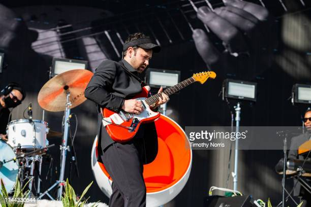 Ruban Nielson of Unknown Mortal Orchestra performs during the 2019 Coachella Valley Music And Arts Festival on April 21 2019 in Indio California