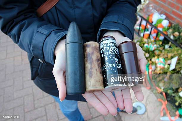 Rubber bullets from conflict in Northern Ireland, Belfast, Northern Ireland