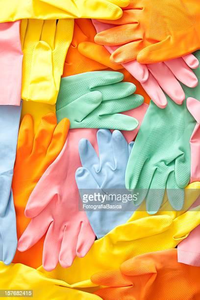 ゴム手袋 - ゴム手袋 ストックフォトと画像