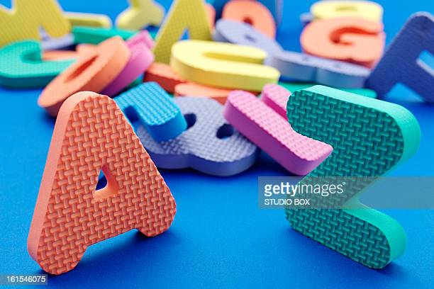 Rubber letters and numbers