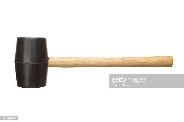 rubber mallet - mallet hand tool stock pictures, royalty-free photos & images