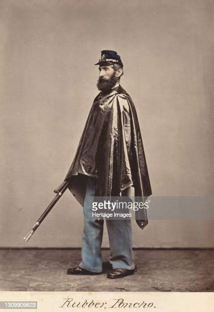 Rubber Poncho, 1866. Artist Oliver H. Willard. .