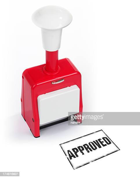 rubber stamp approved - representing stock pictures, royalty-free photos & images