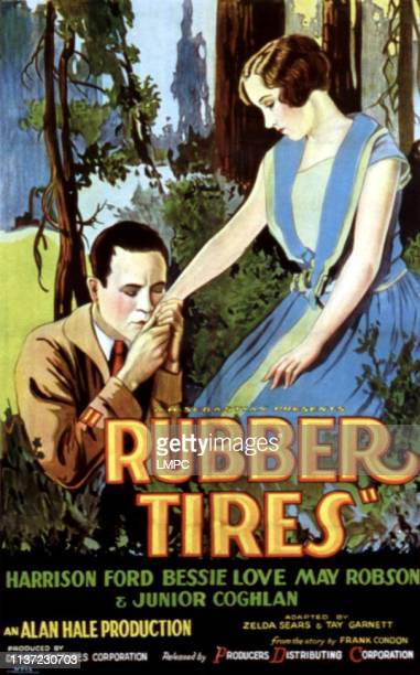 Rubber Tires poster Harrison Ford Bessie Love 1927
