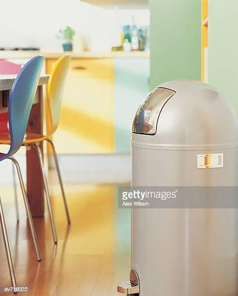 Rubbish Bin in Kitchen
