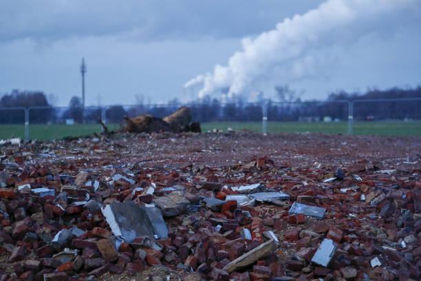 DEU: Deserted Village Awaits RWE AG Lignite Mine Expansion