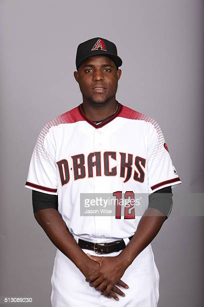 Rubby De La Rosa of the Arizona Diamondbacks poses during Photo Day on Sunday February 28 2016 at Salt River Fields at Talking Stick in Scottsdale...