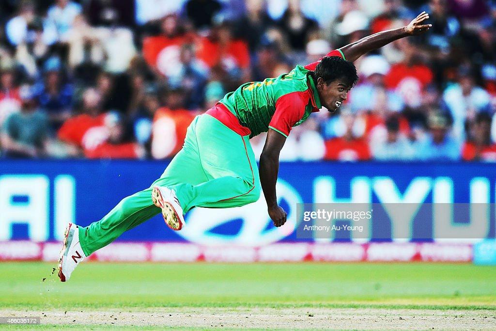 Bangladesh v New Zealand - 2015 ICC Cricket World Cup : News Photo