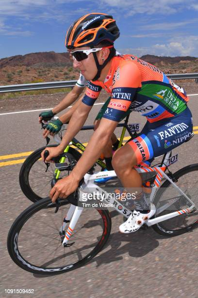 Ruben Acosta of Colombia and Team Nippo Vinia-Fantini-Faiz / during the 37th Tour of San Juan 2019, Stage 4 a 185,8km stage from San Jose Jáchal to...