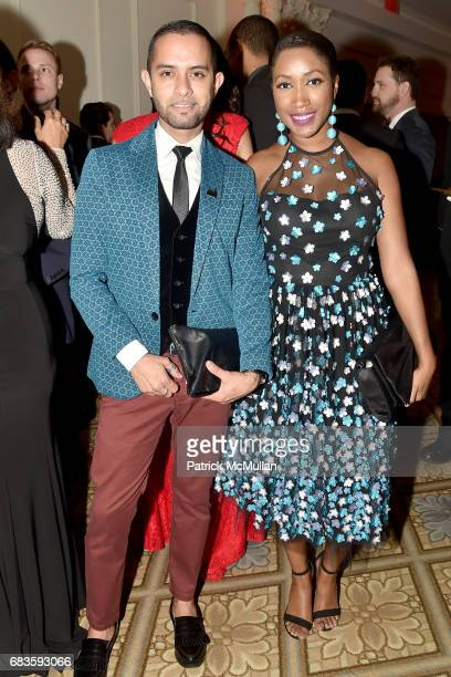 Ruben Ajardo and Alexa Alfonso attend the 2017 Carnaval Gala Celebrating TrailBlazing Latina Leaders Rita Moreno and Nina Vaca Hosted By Ballet...