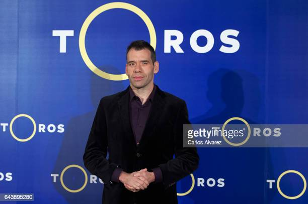 Ruben Amon attends the new Bullfight season presentation at Real Academia de Bellas Artes de San Fernando on February 22 2017 in Madrid Spain