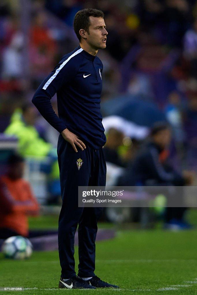 Real Valladolid v Sporting de Gijon - Segunda Division Play Off