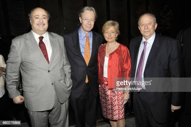 Ruben Beltran Julian Zugazagoitia Adela Heller and Claude Heller attend ENRIQUE NORTEN Private Dinner Celebrating the 25th Anniversary of TEN...