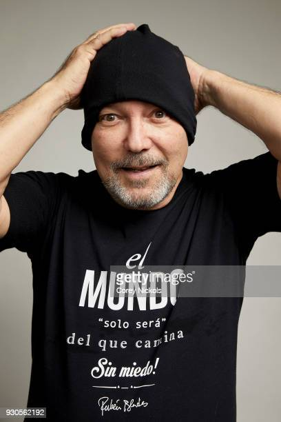 Ruben Blades from the film 'Ruben Blades Is Not My Name' poses for a portrait in the Getty Images Portrait Studio Powered by Pizza Hut at the 2018...