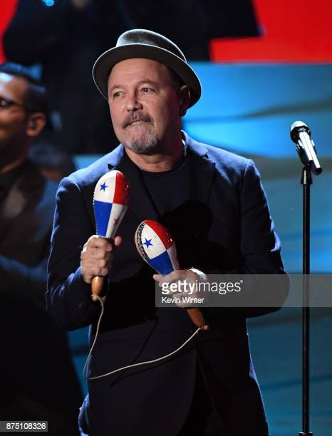 Ruben Blades performs onstage at the 18th Annual Latin Grammy Awards at MGM Grand Garden Arena on November 16 2017 in Las Vegas Nevada