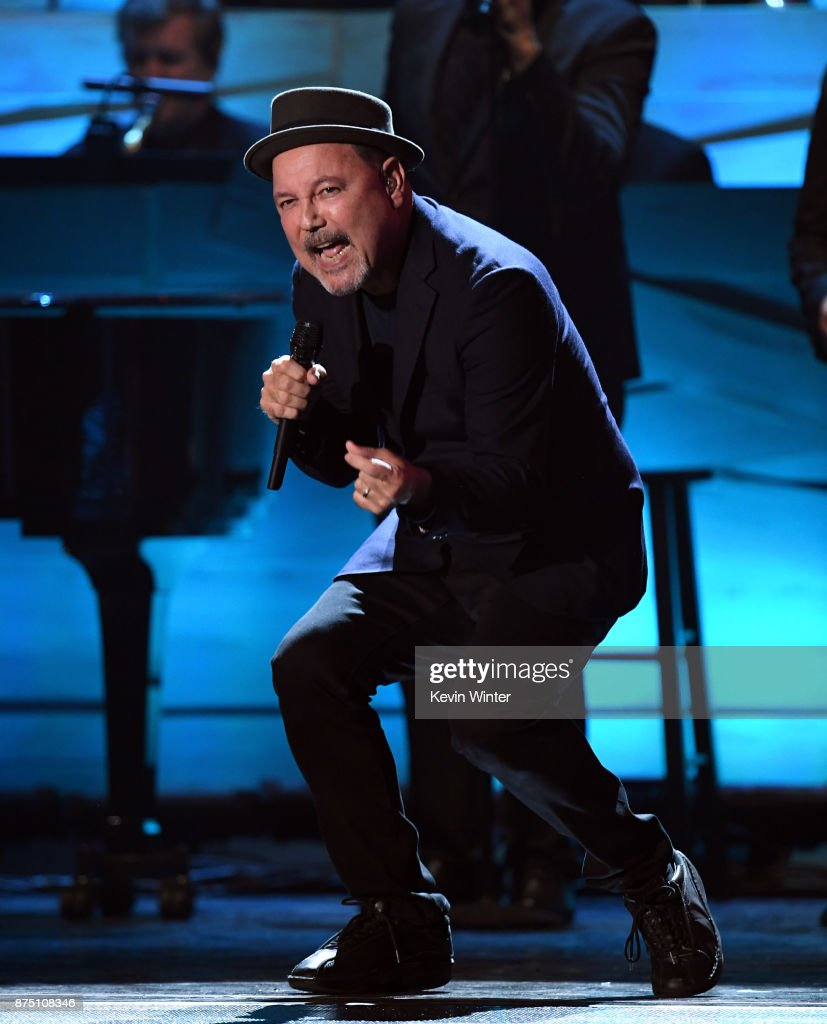Ruben Blades performs onstage at the 18th Annual Latin Grammy Awards at MGM Grand Garden Arena on November 16, 2017 in Las Vegas, Nevada.