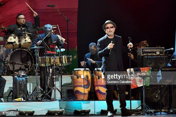 Ruben Blades performs onstage during The 18th Annual Latin Grammy Awards at MGM Grand Garden Arena on November 16 2017 in Las Vegas Nevada