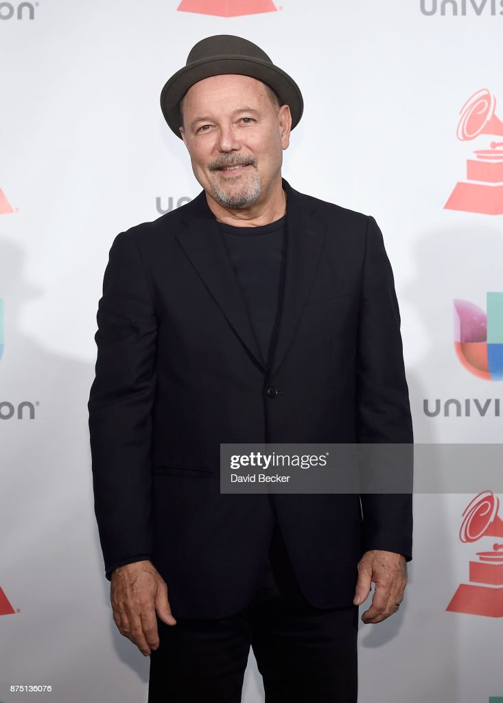 Ruben Blades poses in the press room during The 18th Annual Latin Grammy Awards at MGM Grand Garden Arena on November 16, 2017 in Las Vegas, Nevada.