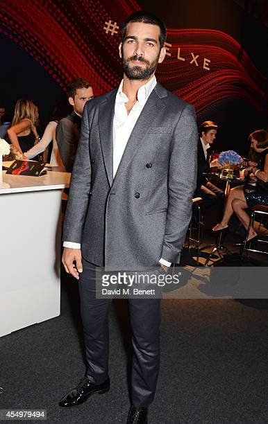 Ruben Cortada attends as a guest of Jaguar at the global reveal of the new XE in London at Earls Court on September 8 2014 in London England
