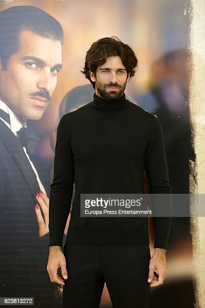 Ruben Cortada attends the presentation of 'Lo que escondian sus ojos' photocall at Tele5 studios on November 16 2016 in Madrid Spain