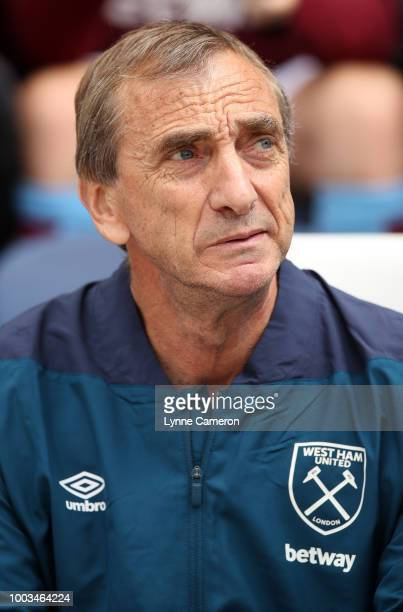 Ruben Cousillas of West Ham United during the PreSeason Friendly between Preston North End and West Ham United at Deepdale on July 21 2018 in Preston...