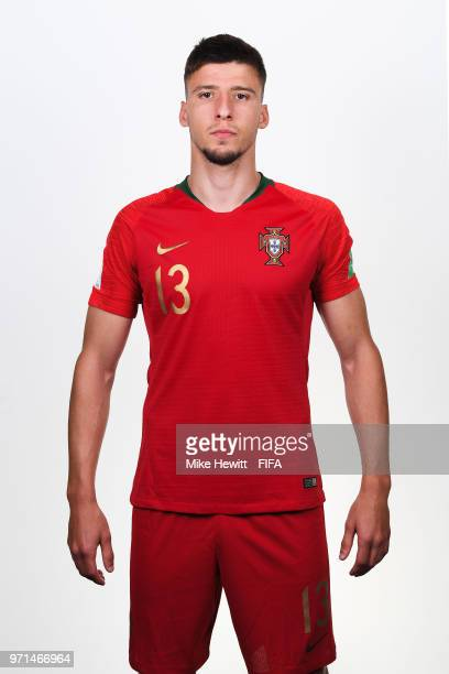 Ruben Dias of Portugal poses for a portrait during the official FIFA World Cup 2018 portrait session at the Saturn training base on June 10 2018 in...