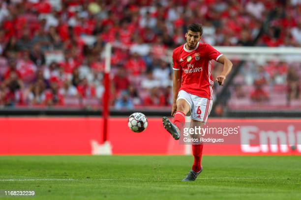 Ruben Dias of SL Benfica during the Liga NOS round five match between SL Benfica and Gil Vicente FC at Estadio da Luz on September 14 2019 in Lisbon...