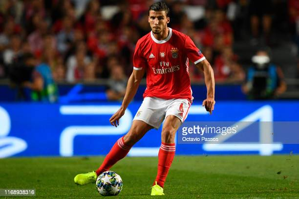Ruben Dias of SL Benfica in action during the UEFA Champions League group G match between SL Benfica and RB Leipzig at Estadio da Luz on September...