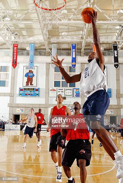 Ruben Douglas of the Utah Jazz against the Chicago Bulls during the Reebok Rocky  Mountain Revue 071708900