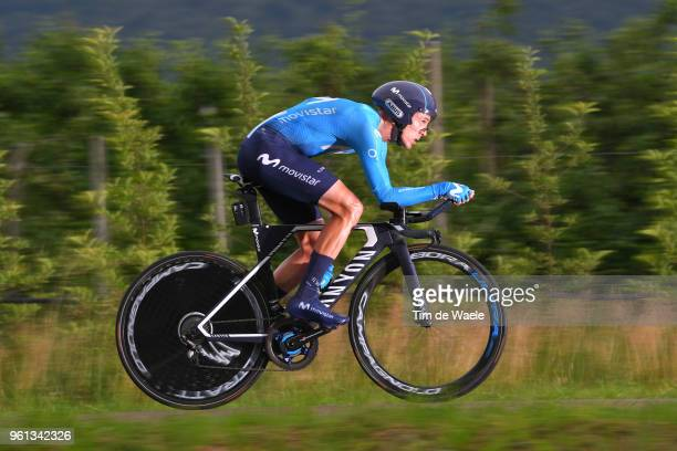 Ruben Fernandez of Spain and Movistar Team / during the 101st Tour of Italy 2018, Stage 16 a 34,2km Individual Time Trial stage from Trento to...