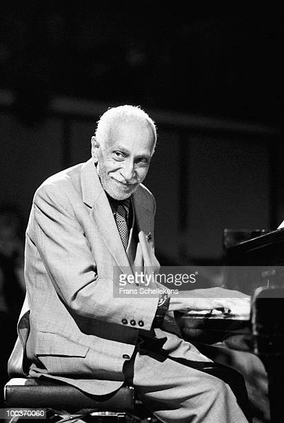 Ruben Gonzalez from Buena Vista Social Club performs live on stage at Bimhuis in Amsterdam, Netherlands on September 28 1997