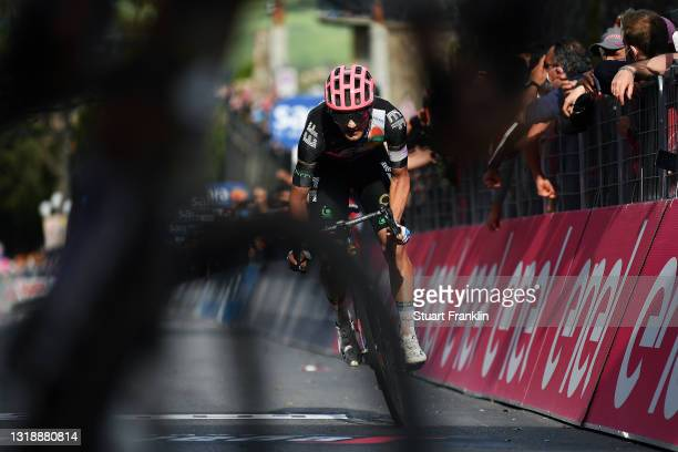 Ruben Guerreiro of Portugal and Team EF Education - Nippo at arrival during the 104th Giro d'Italia 2021, Stage 12 a 162km stage from Perugia to...