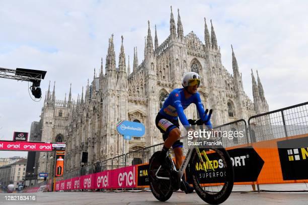 Ruben Guerreiro of Portugal and Team EF Pro Cycling Blue Mountain Jersey / Duomo di Milano / Milan Cathedral / during the 103rd Giro d'Italia 2020,...