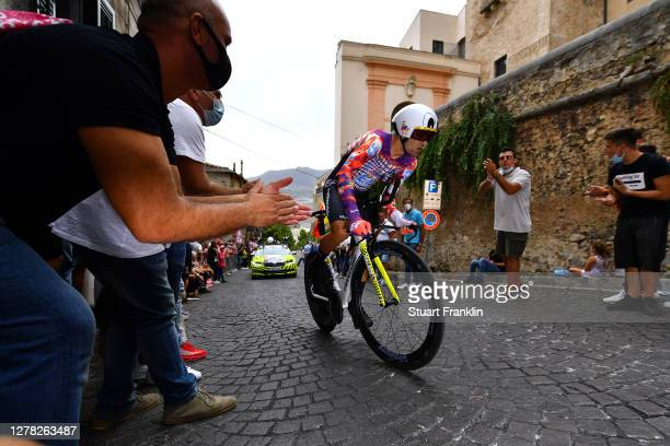 Ruben Guerreiro of Portugal and Team EF Pro Cycling / Duomo di Monreale / Monte Caputo / Cathedral / Public / Fans / during the 103rd Giro d'Italia...