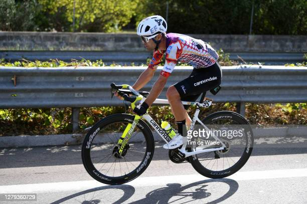 Ruben Guerreiro of Portugal and Team EF Pro Cycling / during the 103rd Giro d'Italia 2020, Stage Seven a 143km stage from Matera to Brindisi /...