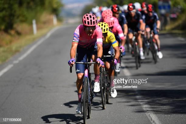 Ruben Guerreiro of Portugal and Team EF Pro Cycling / Jonathan Caicedo of Ecuador and Team EF Pro Cycling / Peloton / during the 55th...