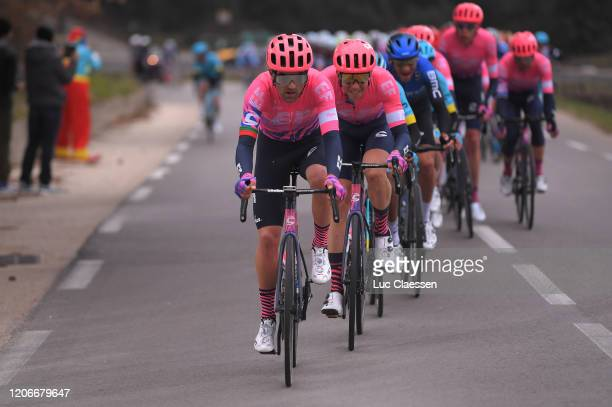 Ruben Guerreiro of Portugal and Team EF Pro Cycling / Sep Vanmarcke of Belgium and Team EF Pro Cycling / during the 5th Tour de La Provence 2020,...