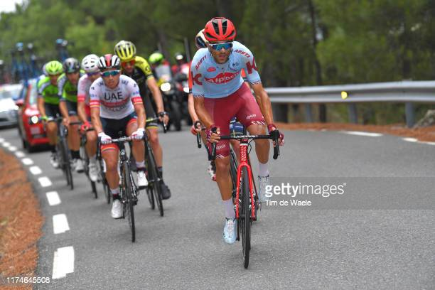 Ruben Guerreiro of Portugal and Team Katusha-Alpecin / during the 74th Tour of Spain 2019 - Stage 20 a 190.4km stage from Arenas de San Pedro to...