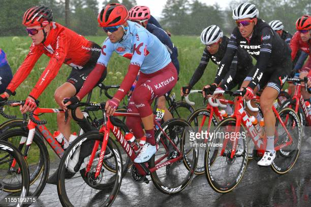 Ruben Guerreiro of Portugal and Team KatushaAlpecin / Koen de Kort of The Netherlands and Team TrekSegafredo / Rain / during the 71st Criterium du...